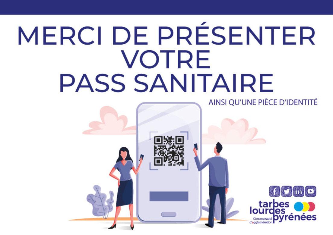 Pass sanitaire obligatoire dans les établissements de l'agglo