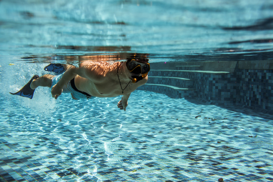 Baptême de plongée pour le Téléthon